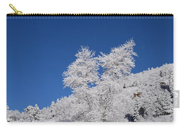 Ice Crystals Ute Pass Cos Co Carry-all Pouch