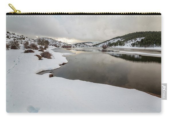 Ice In The River Carry-all Pouch