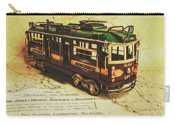 Icon Melbourne Tram Art Carry-all Pouch