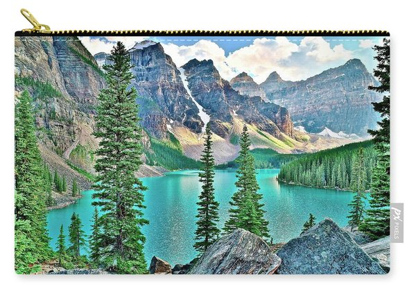 Iconic Banff National Park Attraction Carry-all Pouch