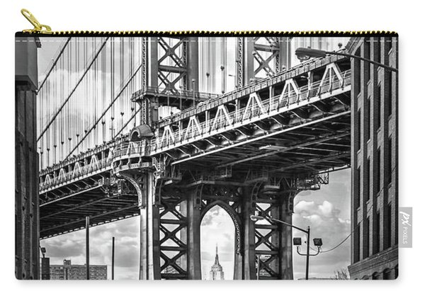 Iconic Manhattan Bw Carry-all Pouch