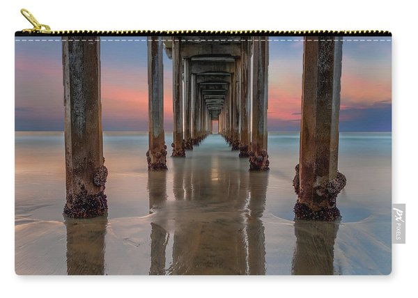 Iconic Scripps Pier Carry-all Pouch