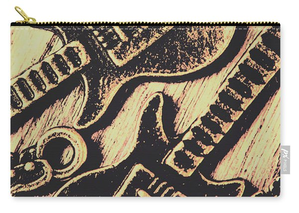 Icons Of Vintage Music Carry-all Pouch