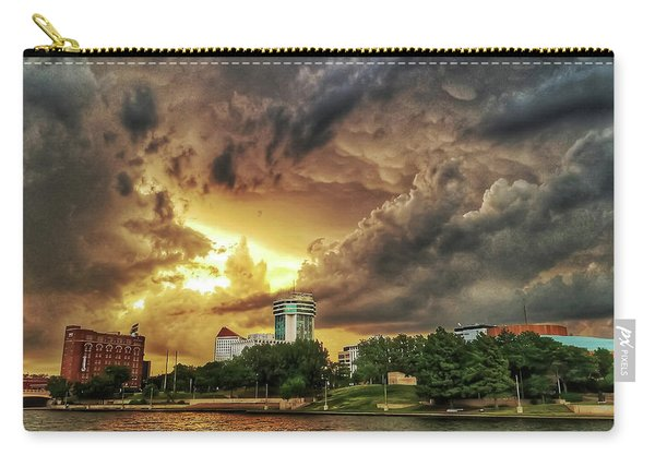 Ict Storm - From Smrt-phn L Carry-all Pouch