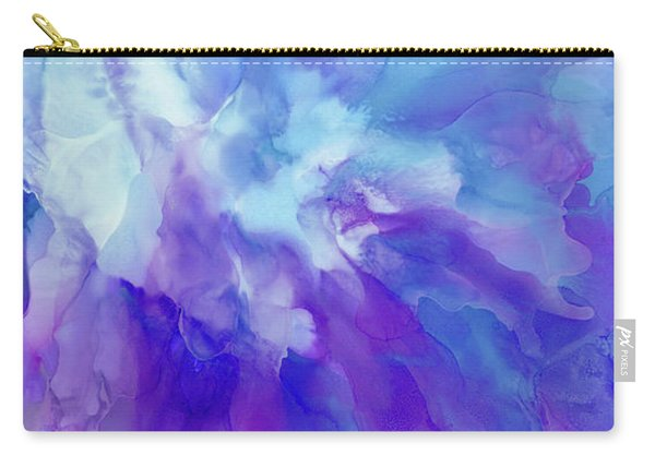 Icy Bloom Carry-all Pouch