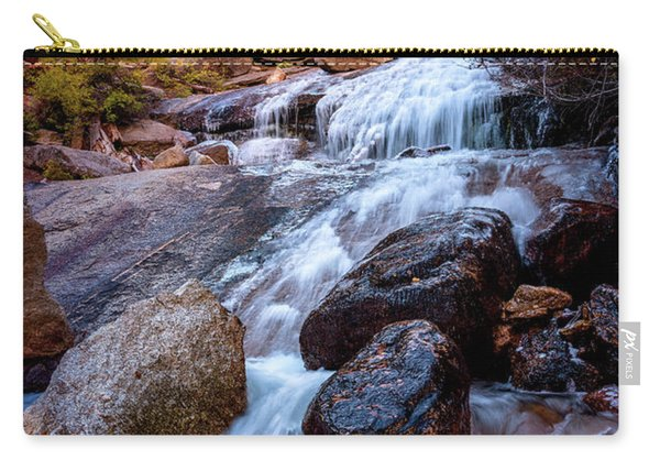 Icy Cascade Waterfalls Carry-all Pouch