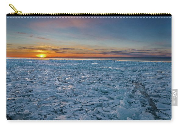 Icy Sunset Carry-all Pouch