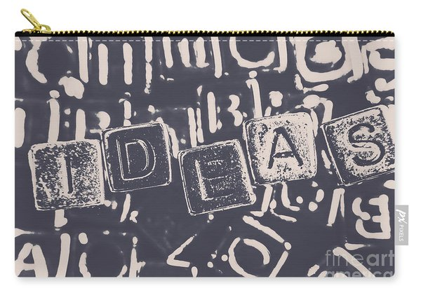 Idea Blocks Carry-all Pouch