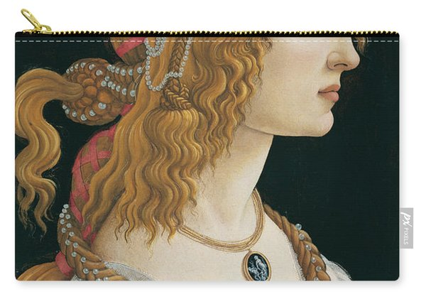 Idealized Portrait Of A Lady Carry-all Pouch