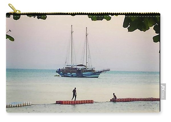 Carry-all Pouch featuring the photograph Idyllic Setting To Idle The Time Away by Mr Photojimsf