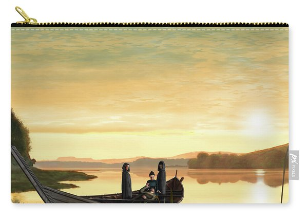 Idylls Of The King Carry-all Pouch