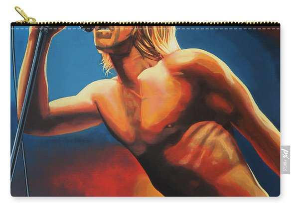 Iggy Pop Painting Carry-all Pouch