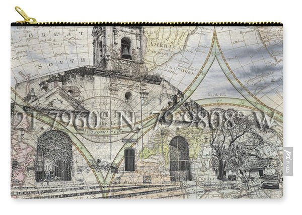 Iglesia De Santa Ana Passport Carry-all Pouch