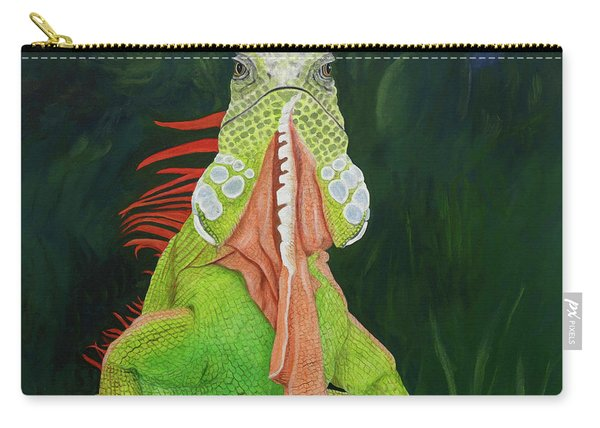 Iguana Dude Carry-all Pouch