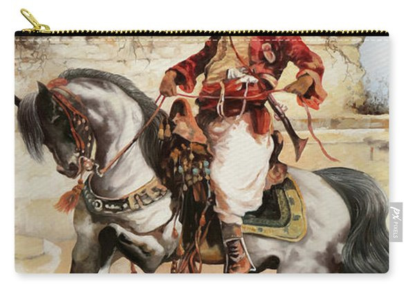 Il Cavaliere Rosso Carry-all Pouch