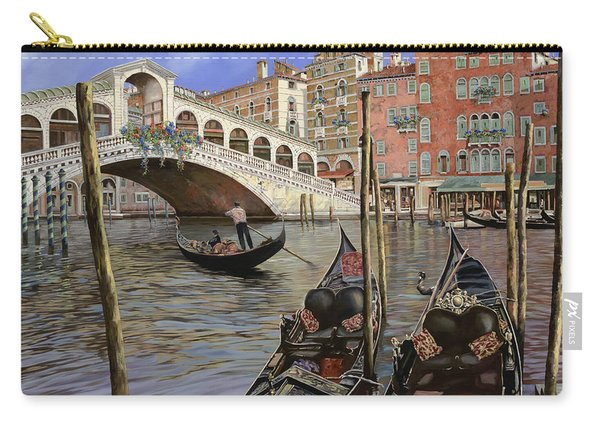 Il Ponte Di Rialto Carry-all Pouch