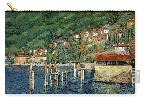 il porto di Bellano Carry-all Pouch