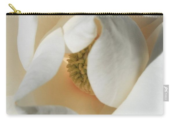 Illuminated Magnolia Macro Carry-all Pouch