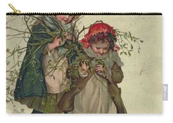Illustration From Christmas Tree Fairy Carry-all Pouch