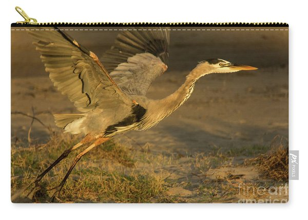 I'm Out Of Here Wildlife Art By Kaylyn Franks Carry-all Pouch