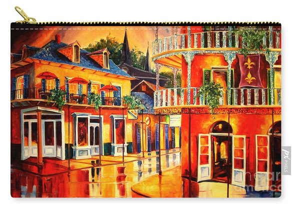Images Of The French Quarter Carry-all Pouch