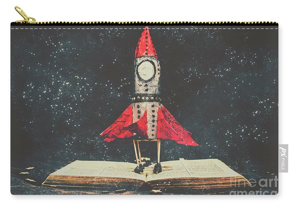 Imagination Is A Space Of Learning Fun Carry-all Pouch