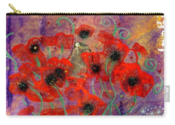 Imagine By Mimi Stirn Carry-all Pouch
