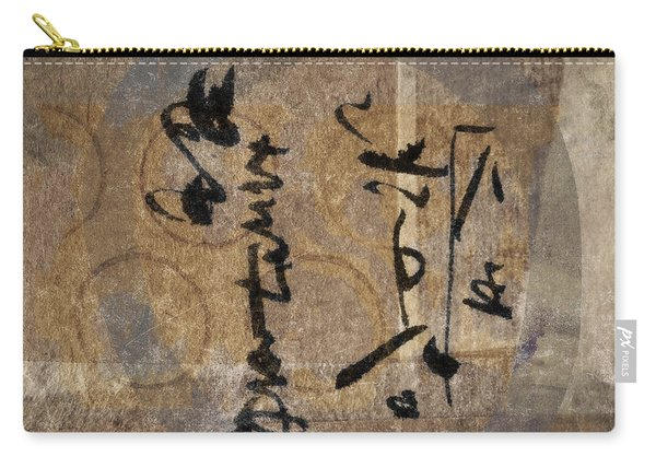 Imagined Calligraphy Carry-all Pouch