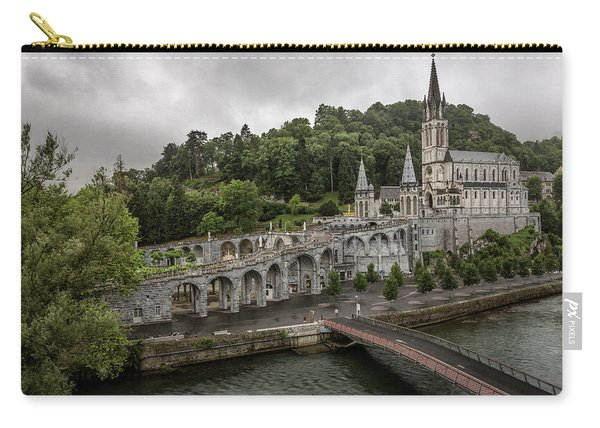 Immaculate Conception And Rosary Basilica Carry-all Pouch