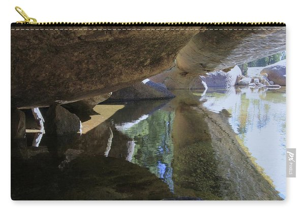 Carry-all Pouch featuring the photograph Immerse Yourself...tell Me Where You Are by Sean Sarsfield