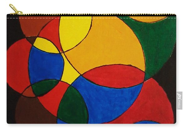 Imperfect Circles Carry-all Pouch