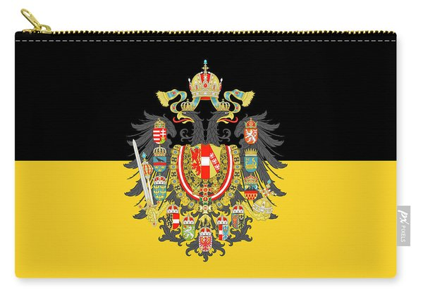 Habsburg Flag With Imperial Coat Of Arms 1 Carry-all Pouch