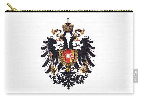 Imperial Coat Of Arms Of The Empire Of Austria-hungary 1815 Transparent Carry-all Pouch