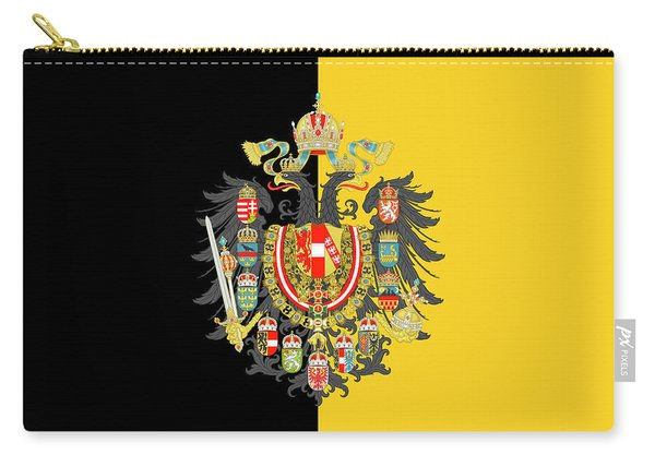 Habsburg Flag With Imperial Coat Of Arms 2 Carry-all Pouch