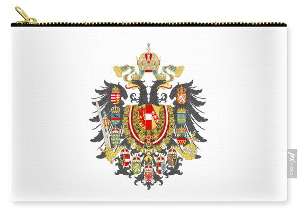 Imperial Coat Of Arms Of The Empire Of Austria-hungary Transparent Carry-all Pouch