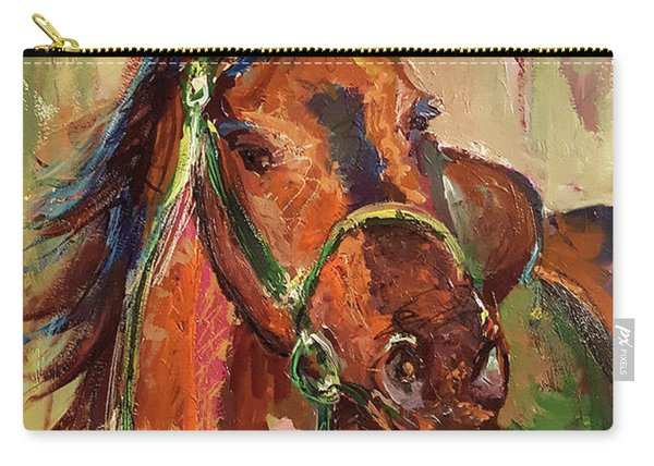 Impressionist Horse Carry-all Pouch