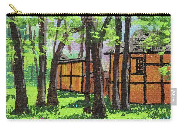 Impressionistic Landscape Xviii Carry-all Pouch