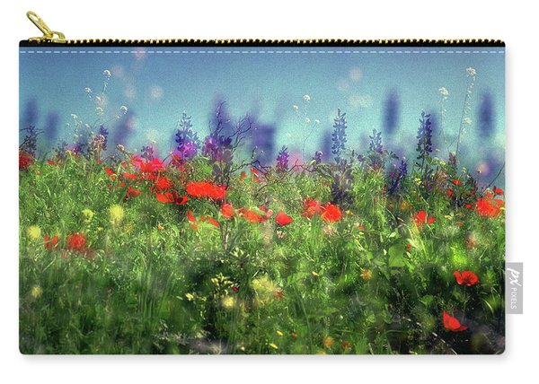 Impressionistic Springtime Carry-all Pouch