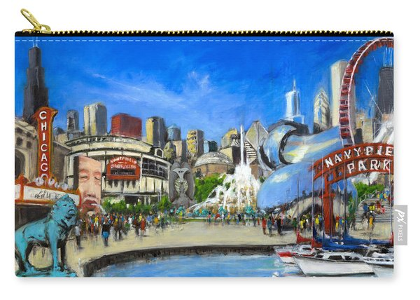 Impressions Of Chicago Carry-all Pouch