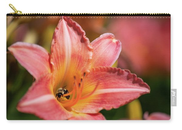 Carry-all Pouch featuring the photograph In A Lily 1 by Brian Hale