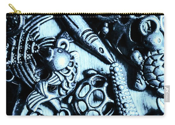 In Blue Nautilus  Carry-all Pouch
