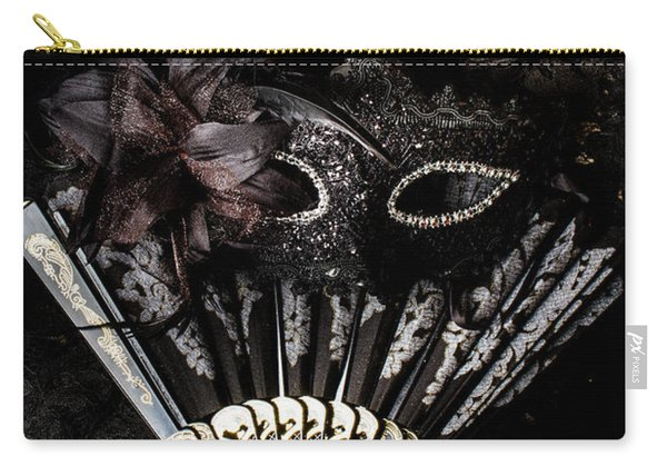 In Fashion Of Mystery And Elegance Carry-all Pouch