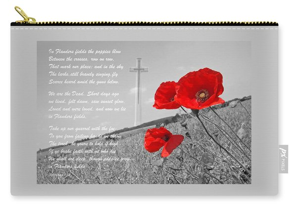 In Flanders Fields Carry-all Pouch