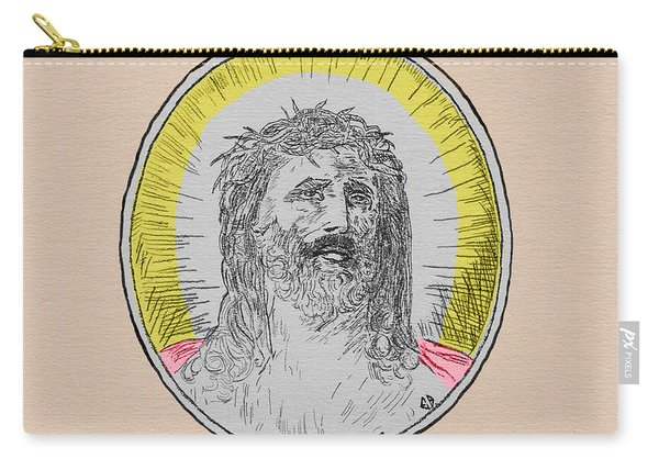 In Him We Trust Colorized Carry-all Pouch