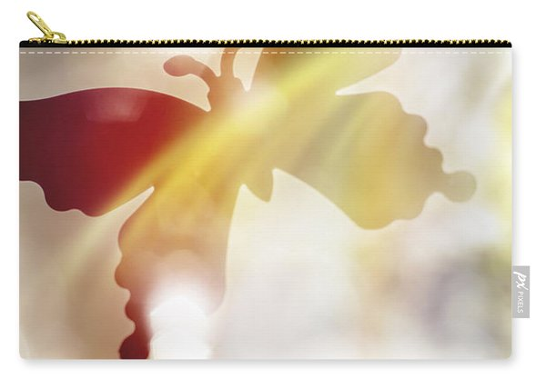 In Light Of Clipped Wings Carry-all Pouch