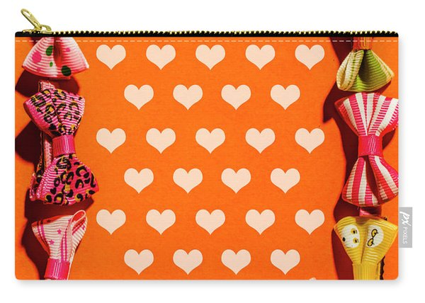 In Love Of Fashion Styling Carry-all Pouch