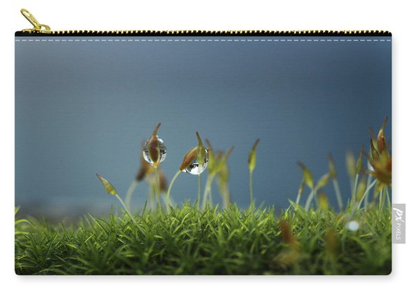 In Moss World .. Rain Carry-all Pouch