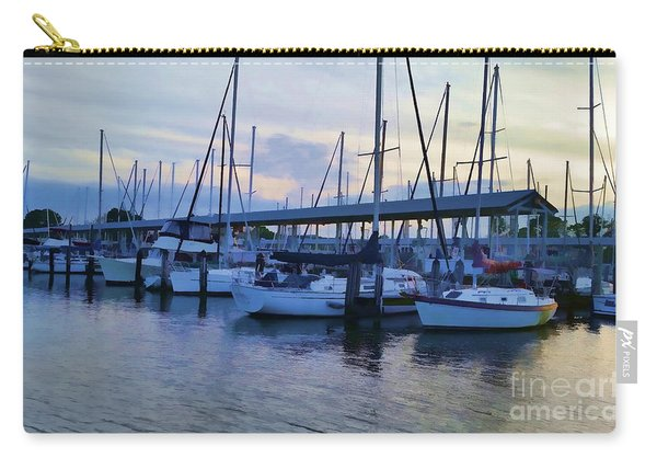 In My Dreams Sailboats Carry-all Pouch