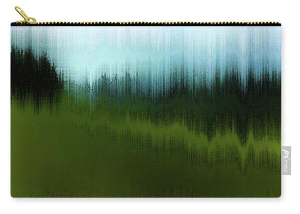 Carry-all Pouch featuring the digital art In The Black Forest by Gina Harrison