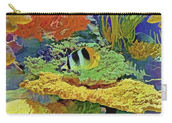 In The Coral Garden 10 Carry-all Pouch